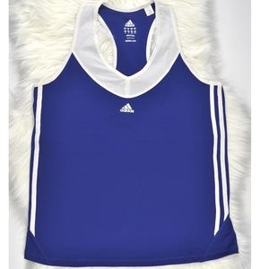 Adidas Women Active Tank Top Blue XL